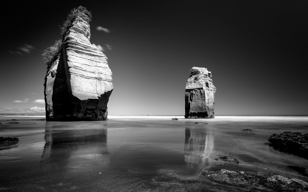 The Three Sisters Rocks